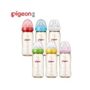 满$307减$27寬口母乳實感PPSU奶瓶 - 1入   PIGEON 貝親
