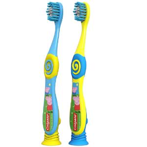 $4(原价$7.49)Colgate 高露洁 柔软可爱儿童牙刷2件套