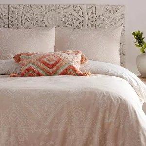 折扣区7折 £17.5收床品套装Debenhams 夏促开启 床品专区 温柔奶油系 裹紧你的小被子