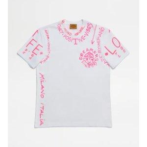 Tod's涂鸦T恤