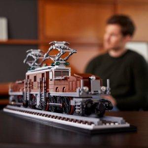 $149.99新品上市:Lego 官网 Creator 系列 鳄鱼机车10277 可用手机遥控