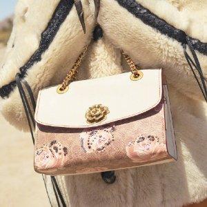 新用户9折 £175收粉色DinkyCoach英国官网 秋季美包上新 邦妮兔、山茶花有点美