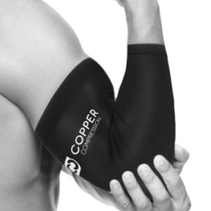 $12.3 缓解肌肉酸痛限今天:Copper Compression 压缩肘关节护理套