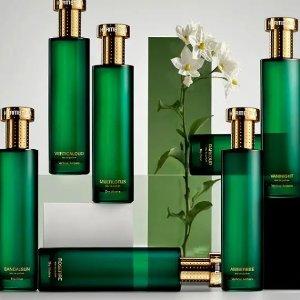 无门槛7.5折 €85起收高级感绿瓶上新:Hermetica 法国小众香氛 无酒精天然配方 超独特不撞香