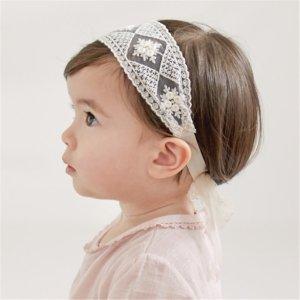Baby / Toddler Girl Lace Mesh Splice Headband