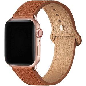 $9.49(原价$18.99)SUNFWR 苹果 Apple Watch 表带 42/44mm
