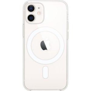 Apple- iPhone 12 mini Clear Case with MagSafe - Clear