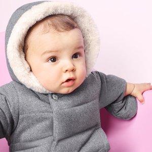 6-7折比黒五低:Jacadi 官网 法式儿童秋冬美服大促,极致优雅