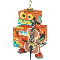 Rolife 拉大提琴的机器人音乐盒