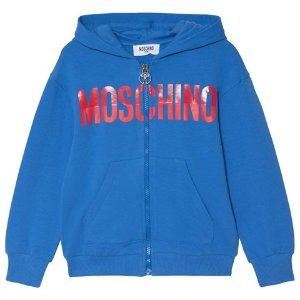 MoschinoBlue Branded Hoodie | AlexandAlexa