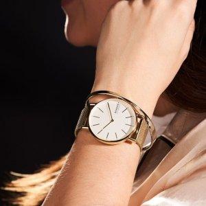 6折+包邮 极简气质款$40Skagen 时装手表黑五特卖,好价收智能表