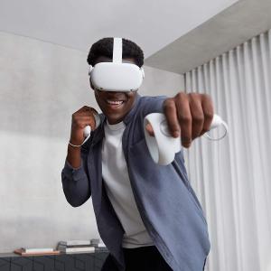 含税直邮中国¥2100即将截止:Oculus Quest 2 无线头戴式一体式VR设备 64GB