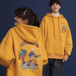 PROD 独家品牌 秋季新款潮Tee、卫衣 限时大促 多款独特个性设计卫衣均参加