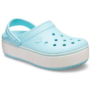 Crocs第2双半价厚底洞洞鞋 多色 男女同款