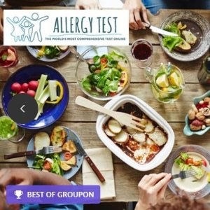 From $19 Food allergy and sensitivity test @ Groupon