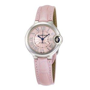 CartierBallon Bleu Automatic Pink Dial Ladies Watch