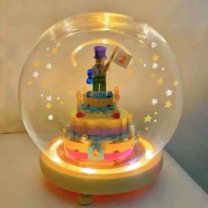 仅售€12.99 送人超走心!Lego 乐高生日蛋糕 三层可爱设计 带小人偶 可以diy数字