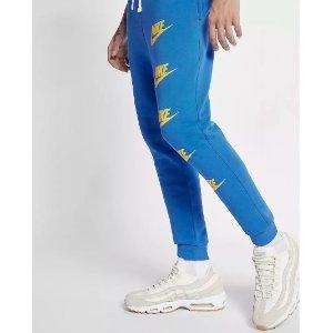 低至5折+包邮Nike官网 特价区男款运动裤装促销 $14.97起