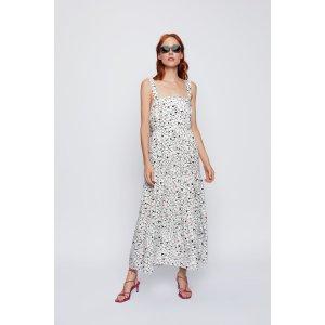 ZaraPRINT DRESS Details