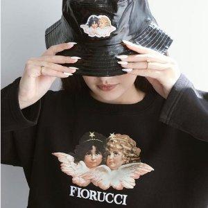 低至2.6折+叠加8.5折 €55收短袖T恤Fiorucci 意式新晋潮牌限时闪促 萌萌小天使上线 酷潮仙女必备