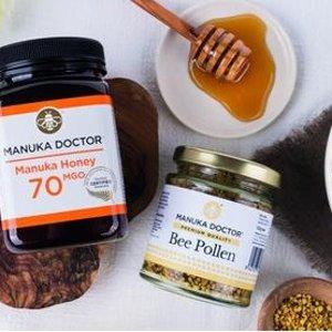 3折+额外9折 限时折扣手慢无Manuka Doctor 100%麦卢卡蜂蜜 新西兰原产地采购包装