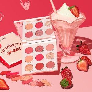 $7起 打造元气满满草莓妆上新:Colourpop 草莓系列彩妆上市