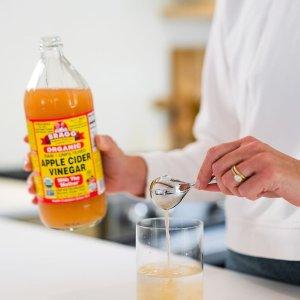 $3.6(原价$5.47)473ml装苹果醋喝出好身材 纯天然无添加 附肉桂生姜苹果醋饮食谱