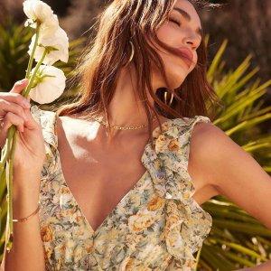 低至2折+额外7.5折Nordstrom Rack 折扣区美裙热卖 收Chloé、MaxMara大牌连衣裙