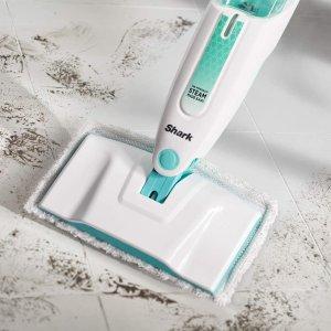 低至7.2折 €39收封面款Shark 蒸汽拖把热促 清洁家庭污渍无死角