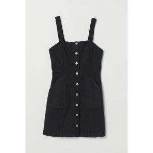 H&M背带裙