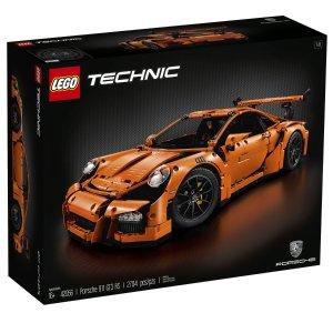 $359.2(原价$449)闪购:LEGO 科技系列保时捷911 GT3