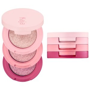 Beauty Bento Bouncy Shimmer Eyeshadow Trio - Kaja | Sephora