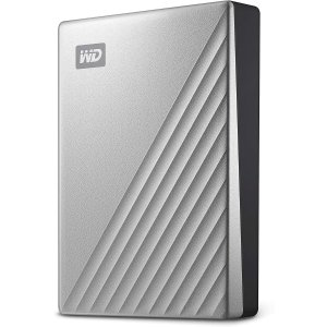 WD 5TB My Passport Ultra USB-C 移动硬盘