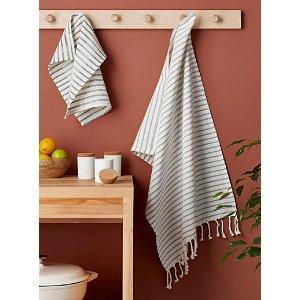 有机棉茶巾
