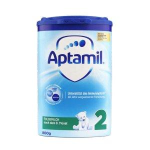 Aptamil嬰幼兒配方奶粉2段(6個月以上) 800g