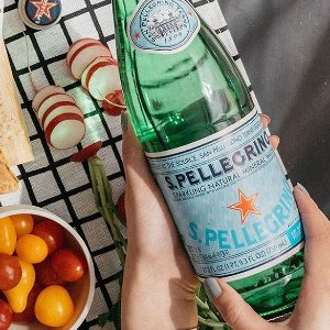 $15.53S.Pellegrino Sparkling Natural Mineral Water, 33.8 fl oz. (Pack of 12) @ Amazon