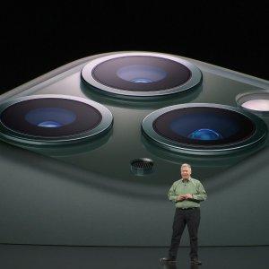 £1049起 机器学习 神经网络 万亿次运算新 iPhone 11 Pro/11 Pro Max  浴霸三摄 超级视网膜屏旗舰手机
