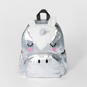 Cat   JackGirls  Unicorn Backpack - Cat   Jack™ Silver e8f3828abbd8c