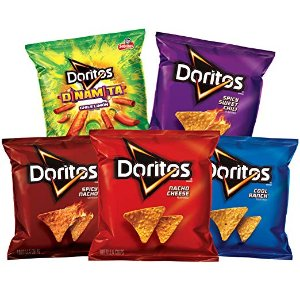 $9Doritos Flavored Tortilla Chip Variety Pack, 40 Count