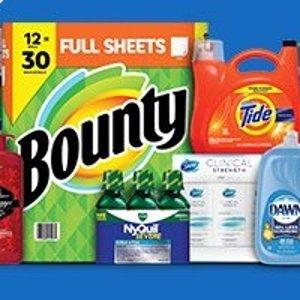 满$60立减$15 相当于7.5折Sam's Club 生活日用品促销 卫生纸 洗衣球 纸巾囤起来