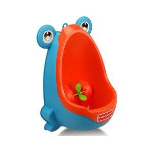 $7.99(原价$14.89)起 马桶清洁就靠它Foryee 超可爱卡通青蛙训练马桶,男宝适用