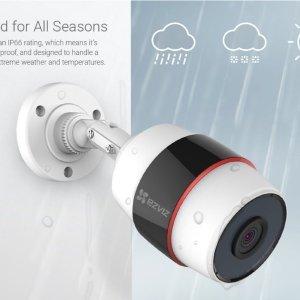 $97.99 (原价$158)EZVIZ EZHUSKY 室外无线智能 1080P监控摄像头
