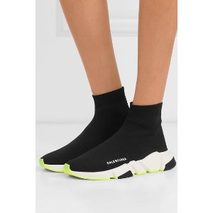 Balenciaga ≈$473+无税Speed 袜子鞋