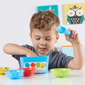 Amazon Learning Resources Smart Scoops Math Activity Set