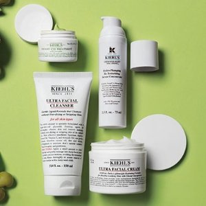 Up to $500 Gift CardExtended: Kiehl's Beauty Sale