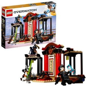 Lego即将退休守望先锋系列 门阵特攻 Hanzo vs. Genji 75971