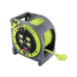 $39.99MasterPlug 60英尺长线圈收纳型电源延长线 4个插座