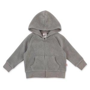ZutanoCozie Fleece Zip Hoodie - Gray