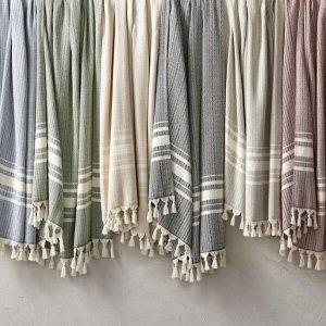 Nantucket Fringe Throw | Frontgate