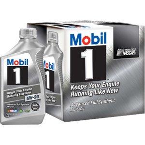 Mobil 1 Full Synthetic Motor Oil 5W-20 6 Qt